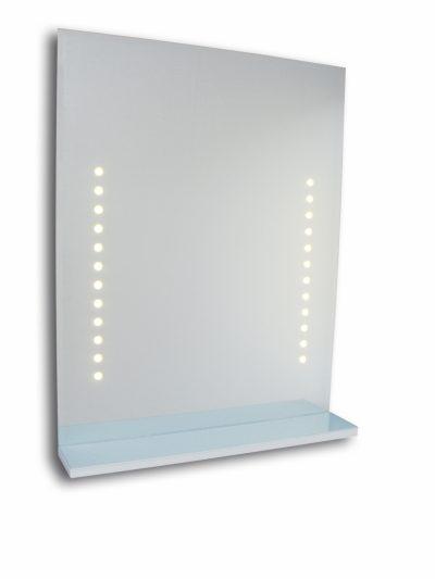 GLOW Rak med LED belysning Vit e0c84b213e100