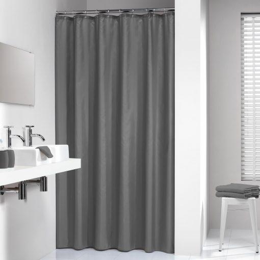 Madeira duschdraperi grå